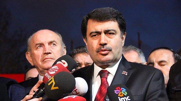 Vali Şahin: 'Dış temsilciliklerin uyarısıyla bugünkü olay arasında bağlantı yok'