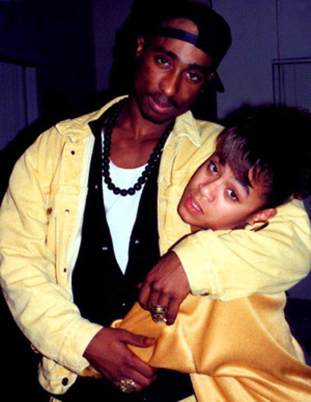 2. Tupac ve Jada Pinkett, 1993