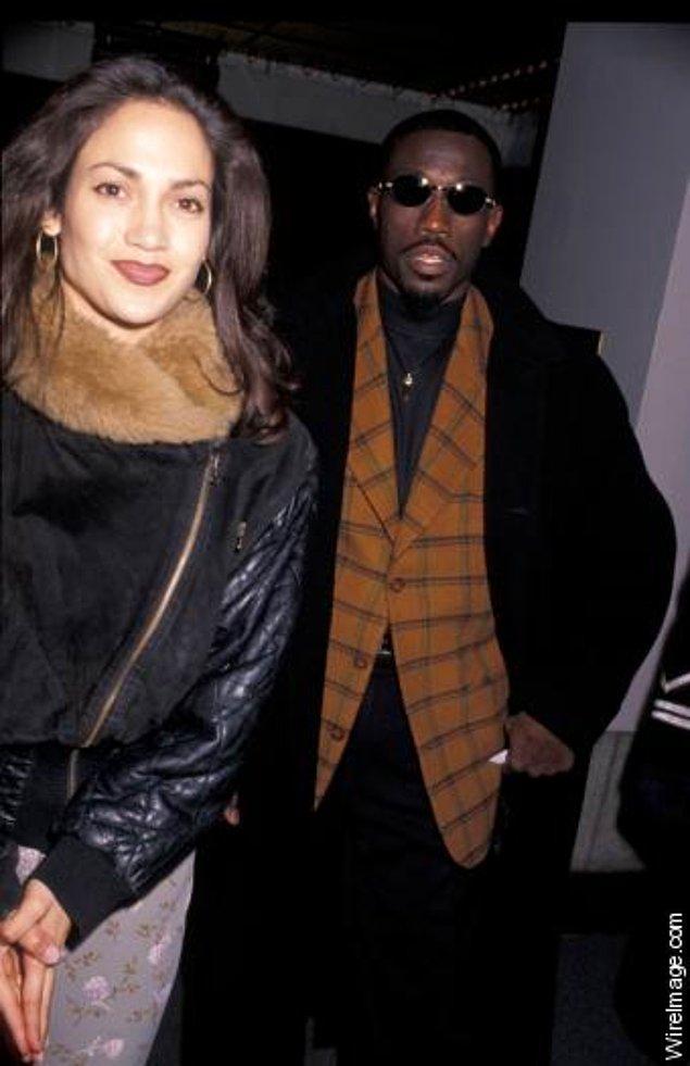 3. Jennifer Lopez ve Wesley Snipes, 1995