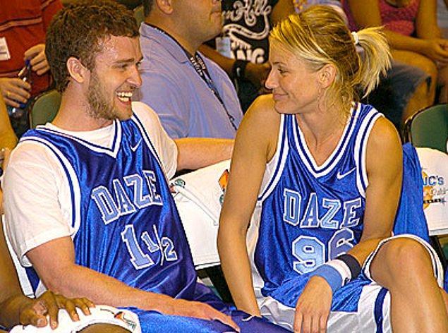 17. Justin Timberlake ve Cameron Diaz, 2005