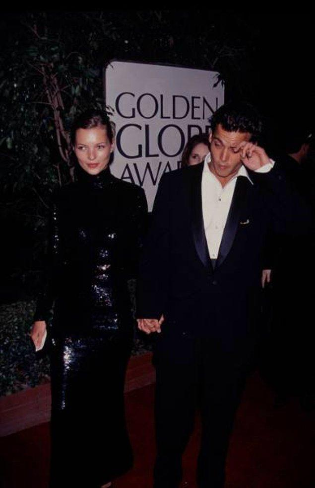 18. Kate Moss ve Johnny Depp, 1994