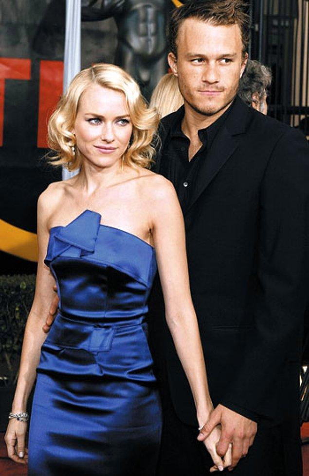 19. Heath Ledger ve Naomi Watts, 2003