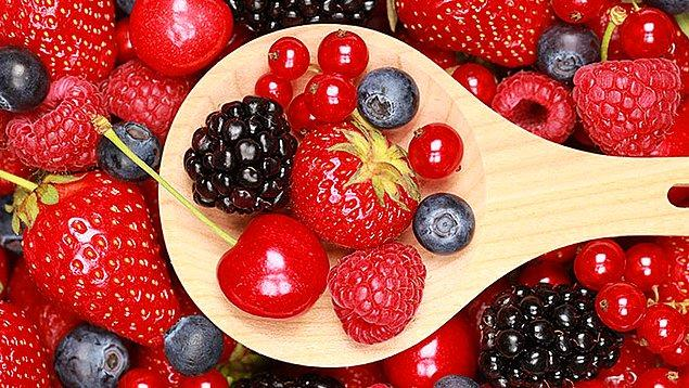 5. Bol bol meyve sebze tüketin
