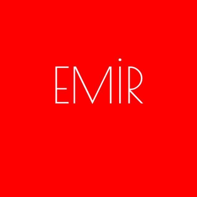 Emir!
