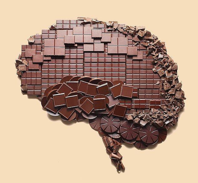 7. Çekilen MR'ların sonuçları da, çikolatanın beyin aktivitesini arttırdığını gösteriyor.