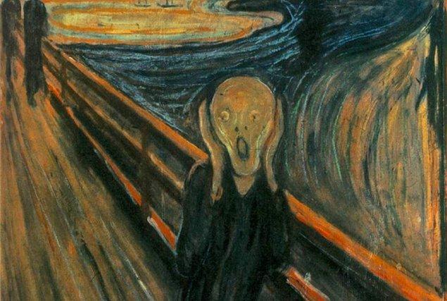 10. Sanat olmadan olmaz, değil mi? Dünyaca ünlü Çığlık (The Scream) tablosu hangi ressama aittir?