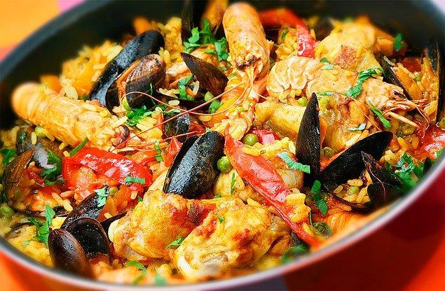 13. Katalan aşuresi: Paella