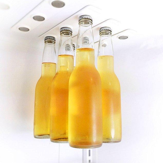 12. Mıknatıslı Bira Askısı