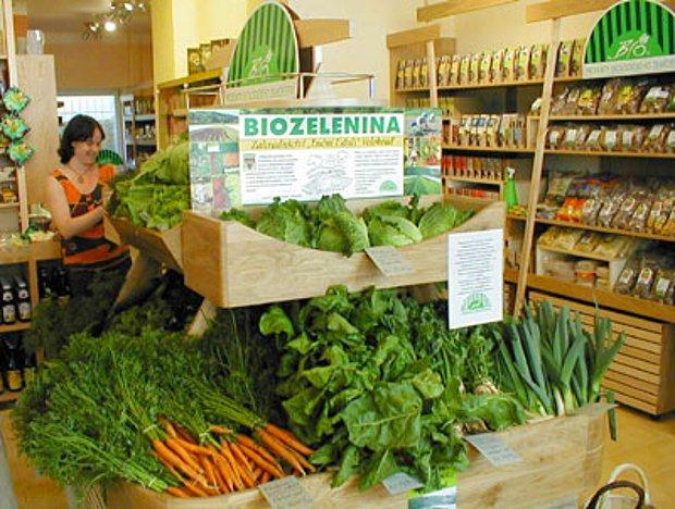 Organik ürün satan yerlerden