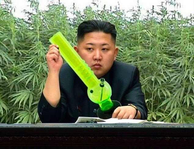 9. Kuzey Kore'de marihuana yasaldır ve marketlerde bulunabilir.