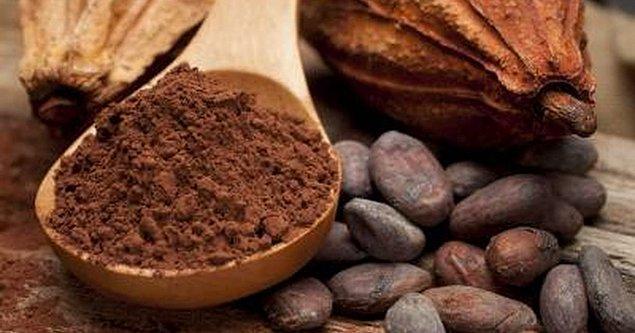 8. Kakaonun içindeki mikro besin elementlerinin beyne faydası olduğunu zaten biliyorduk.