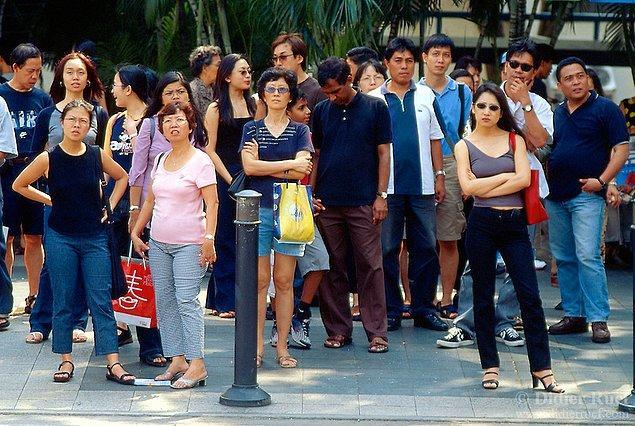 19. Singapur'da sifonu çekmemenin cezası 150 $'dır.