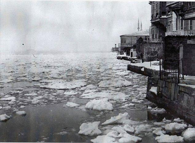 6 Mart itibariyle havaların ısınmasıyla birkaç gün içinde Boğaz'daki buz kütlesi eridi ve hayat normale döndü.