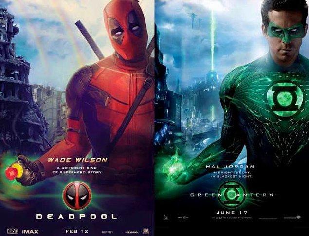 """11. """"Kostümü sakın yeşil ya da animasyon yapmayın."""" repliğiyle Green Lantern'den ne kadar nefret ettiğini söyleyip rahatladı."""