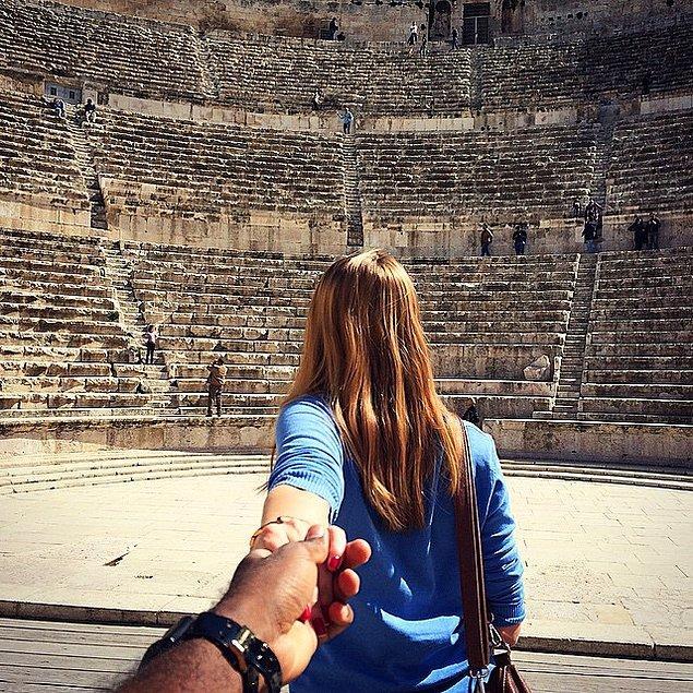 7. Macerayı ve seyahat etmeyi seven, birlikte dünyayı gezen daha birçok çift var.