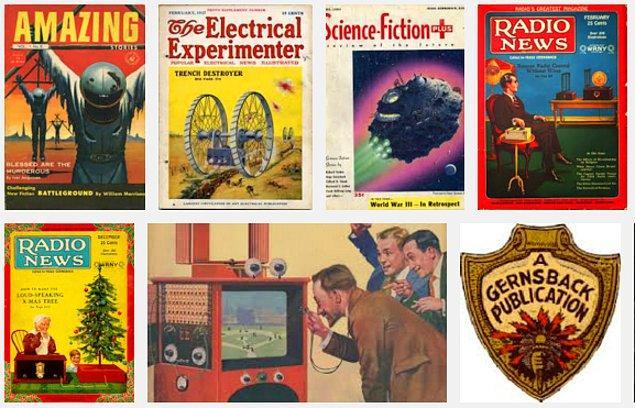 11. Gernsback 56 derginin yayıncılığı ve editörlüğünü yapmış olmanın yanı sıra, öldüğünde 80'in üzerinde patente sahipmiş.
