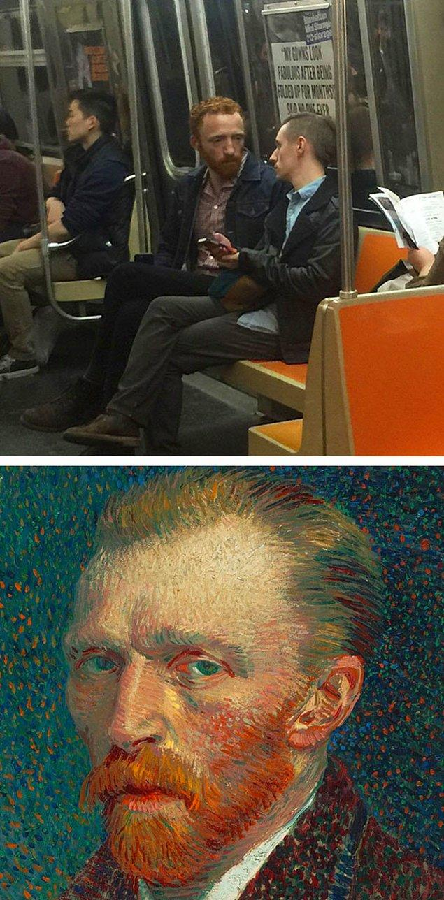 10. Van Gogh reenkarne olmuş, bu çok net