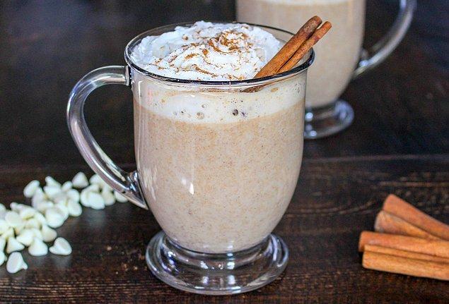 5. Beyaz Çikolatalı Mocha