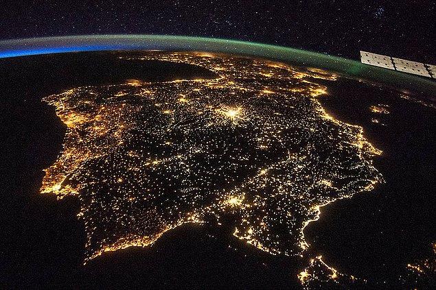 Peki, Uzaydan Bakanlar Dünya Üzerinde Neyi Görebilir?