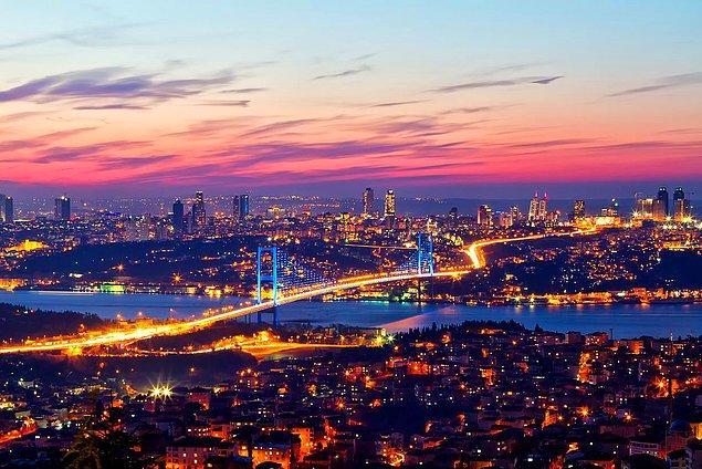 9. Son olarak İstanbul bilgini test edelim. Sence hangisi İstanbul'un tepelerinden biri değildir?