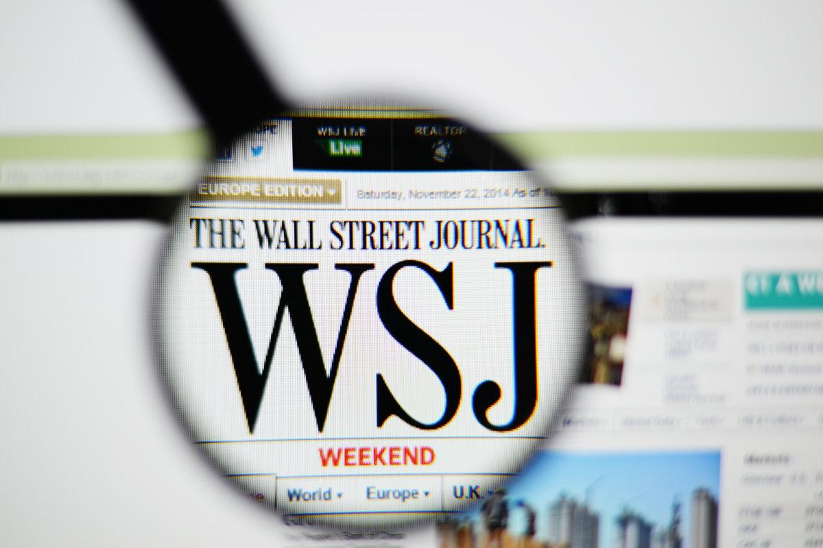 The wall street journal amp breaking news business