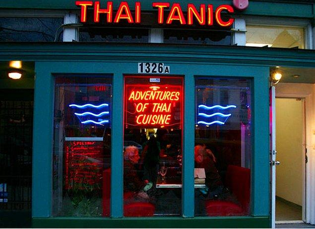 3. Thai Tanic Lokantası