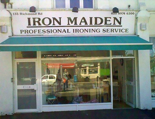 6. Iron Maiden Ütülemecilik