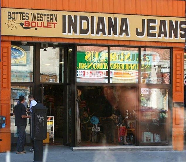 10. Indiana Jeans Giyim Kuşam