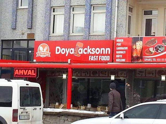 14. Doya Jacksonn Fast Food