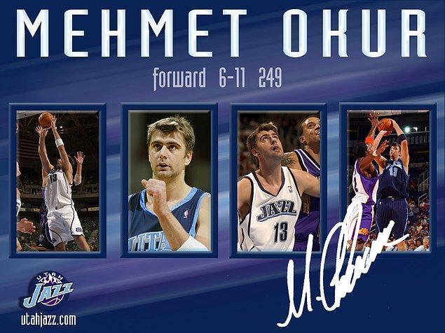 9. Utah Jazz 2007 yılı MVP'si Mehmet Okur