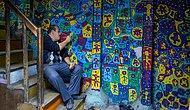 Gecekondusunu Dev Bir Sanat Eserine Çeviren Ressam Muhammed ve Renkli Dünyasıyla Tanışın
