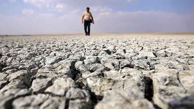 '900 yılın en kötü kuraklığı'