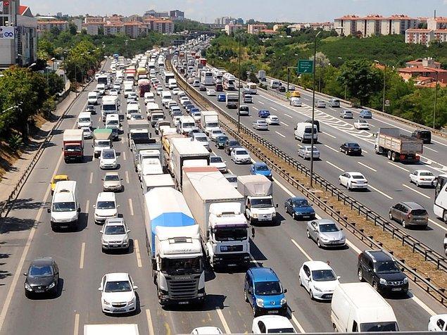 Trafik harçları için 755 milyon ödedik
