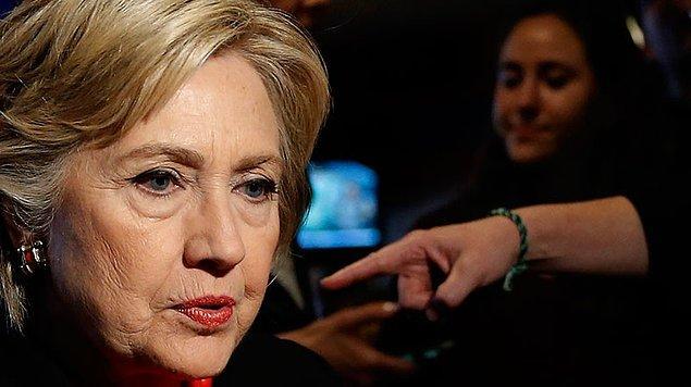 Clinton yine kaybetti