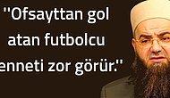 Cübbeli Ahmet Hoca Bu Sözleri Söylemiş midir?