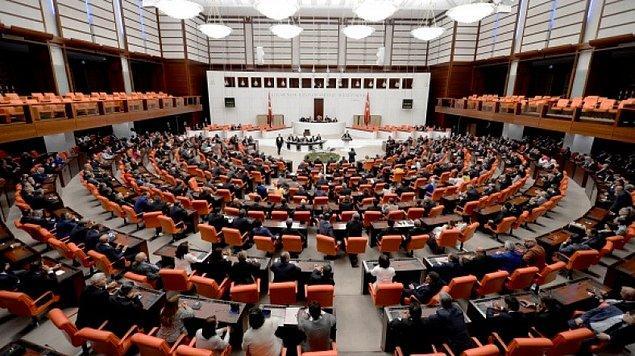 Meclis'e sunulmadı