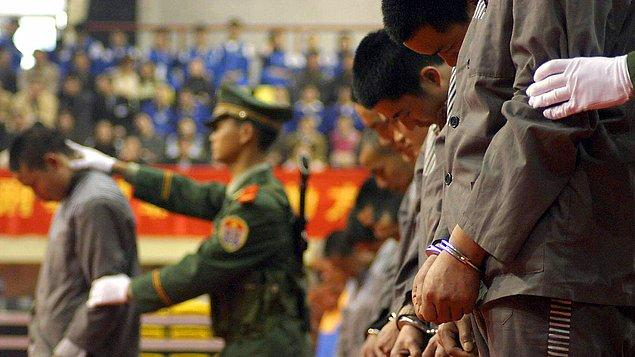 Çin'de idam devlet sırrı