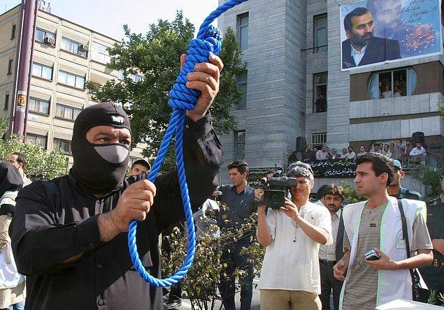 En çok idam İran'da