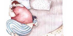 Baba-Kız İlişkilerini Anlatırken Herkesi Gülümsetecek 14 Başarılı Çizim