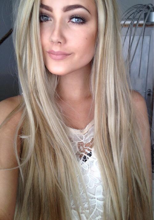 Light blonde hair tumblr girls