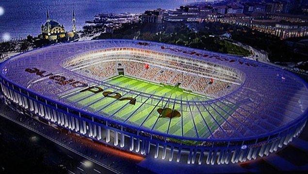 5. Stadın normal koltuk kapasitesi 41 bin 903 olarak belirlendi.