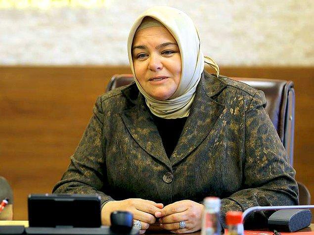 """Bakan Ayşen Gürcan'ın tepki çeken bir sözü olmuştu: """"Eğer bir Müslüman kadın börek yapmasını bilmiyorsa o aile dağılmaya mahkumdur."""""""