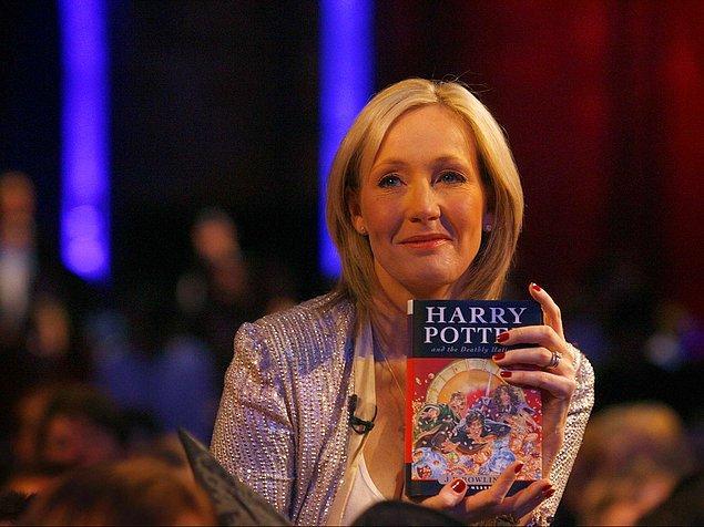 7-J.K. Rowling :19 Milyon Dolar