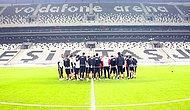 Beşiktaş'tan Vodafone Arena'da İlk Antrenman