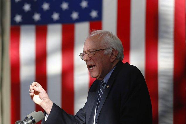 Sanders New York'tan umutlu