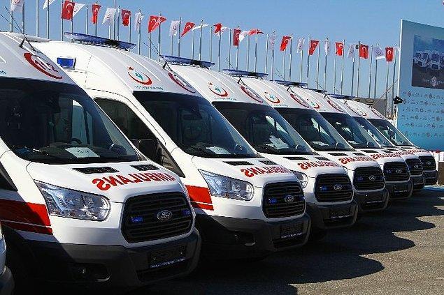 'Ambulans sayımızı 617'den 5 bin 855'e çıkardık'
