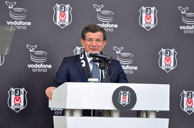 Başbakan Ahmet Davutoğlu: 'Beşiktaş, bayrağımızı temsil ettiği hiçbir maçtan başı öne eğik ayrılmasın inşallah'
