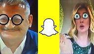 Ünlü Kişileri Snapchat Lenslerine Alet Edip Ortaya Çıkardığımız 12 Komik Tablo