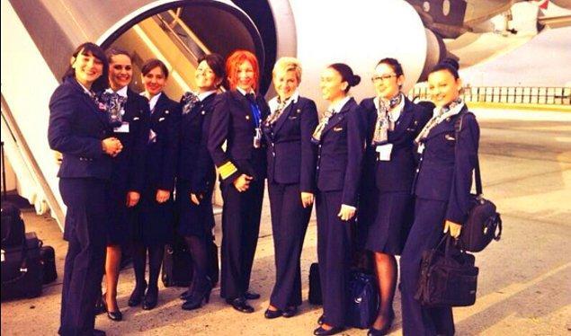 Emel Arman daha önce de Türkiye için ilkleri başarmış; kendisi aynı zamanda Airbus 340 tipi uçaklarda 2. pilot olarak 1997'de Atlas Okyanusu'nu aşan ilk kadın pilotumuz!