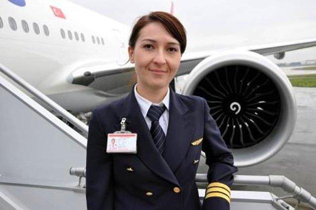 Ferihan Işık ise 11 yıldır THY ile uçuyor ve 4 yıldır kaptan pilot olarak çalışıyor.